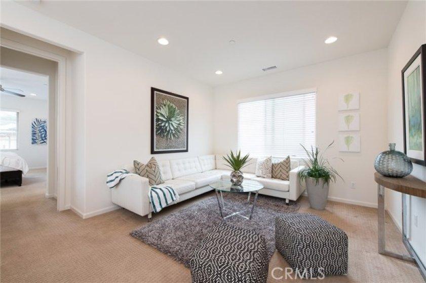open spacious loft
