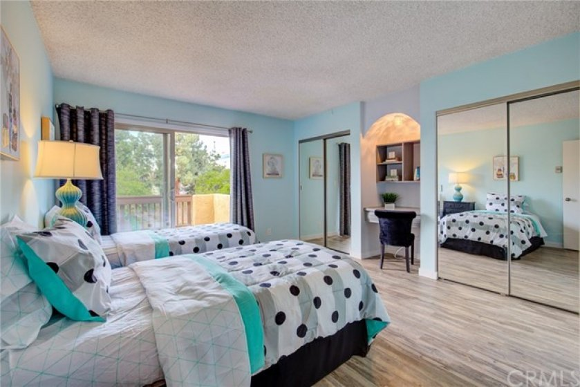 Walk out balcony in second en suite master bedroom.