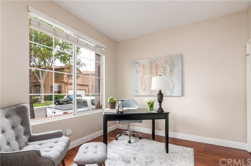 Office/den with large windoew for lots of light.