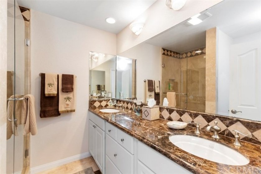 Gorgeous guest bath with shower
