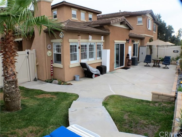 ...as it is the largest backyard in the association plus...
