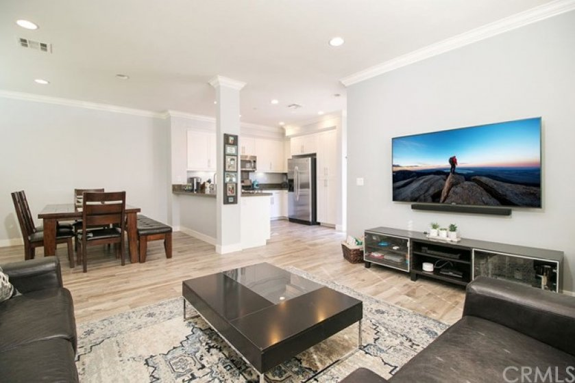 Open to the kitchen, dining and living area - this open concept living is what everyone wants today!