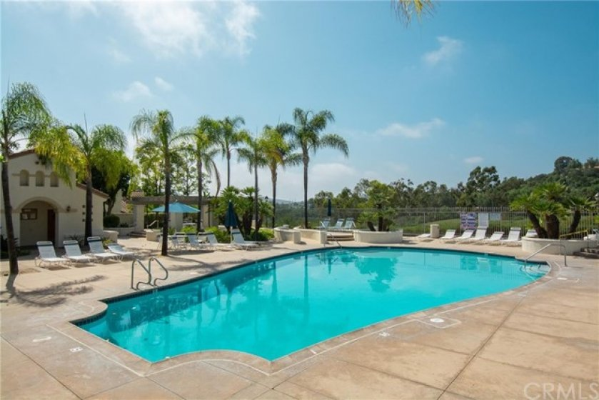 Carmel Pool for only 86 homes overlooks the Talega golf course.
