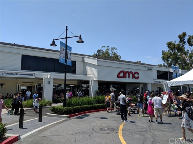AMC Movie Theaters across the street!