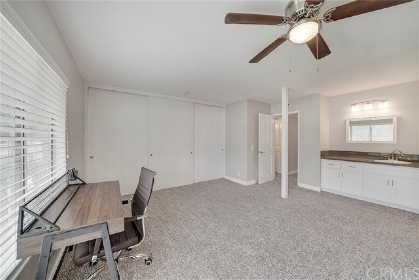 Another look at the other side of the massive owner's suite and ample closet space.