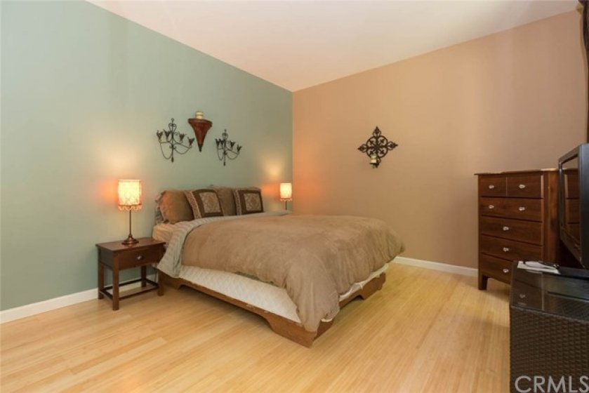 Master bedroom sized, with full bath just adjacent.
