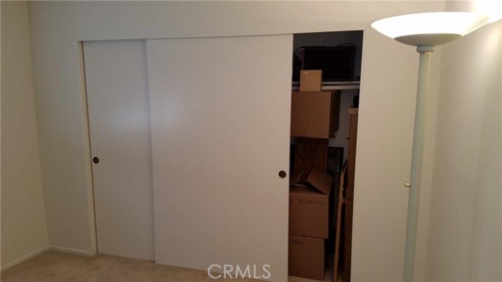 LARGE 2nd Bedroom Closet