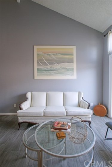 Contemporary colors and finishes