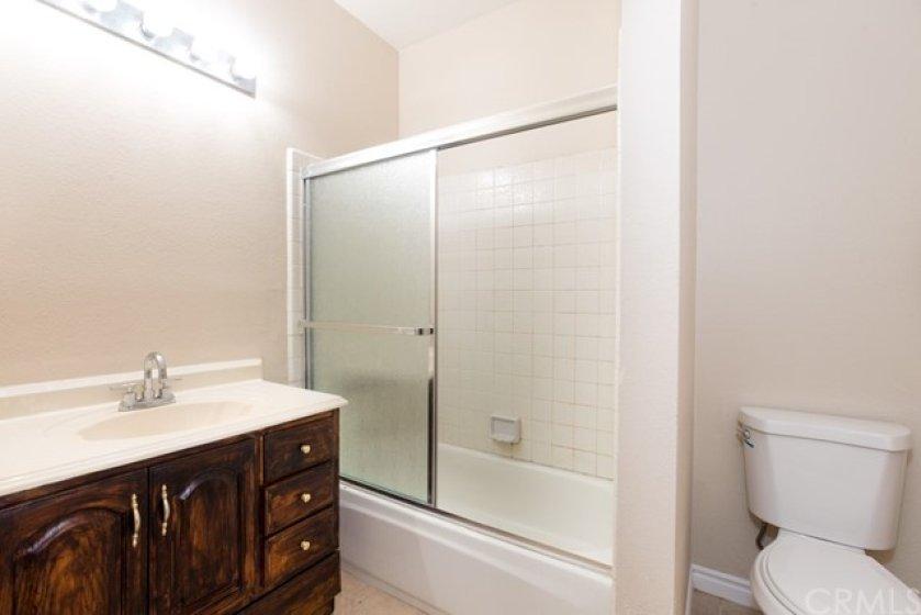 The Hallway Bathroom.