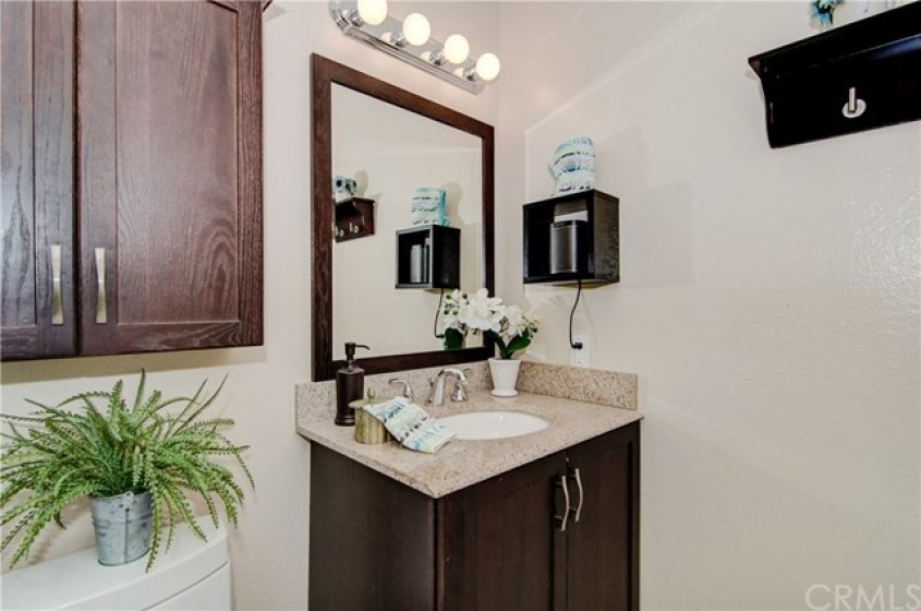 REMODELED MASTER BATHROOM.