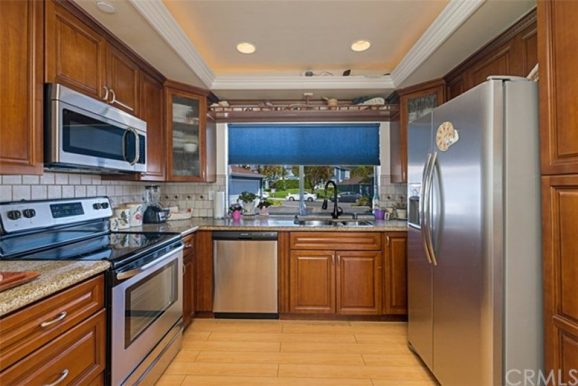 Newer Stainless Steel Appliances Are All Included
