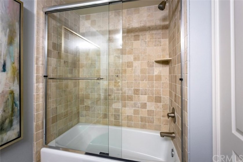 Full Bathroom with Shower in Tub