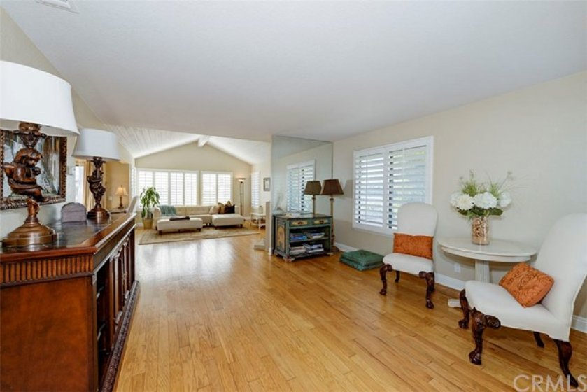 Open Concept. Spacious. Beautiful Wood Floors.