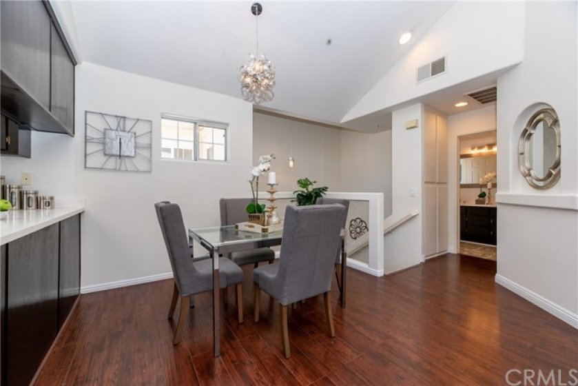 Open floor plan with clean lines separating all appointed spaces