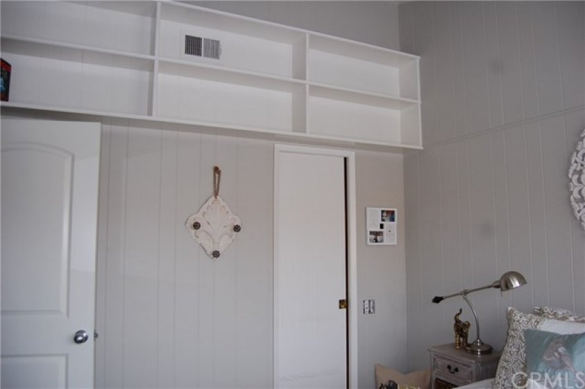 Third Bedroom with Walk in Closet and Built in Shelving