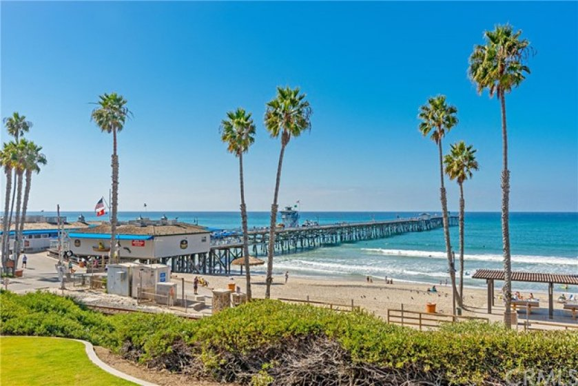 Take a walk out on the San Clemente Pier.