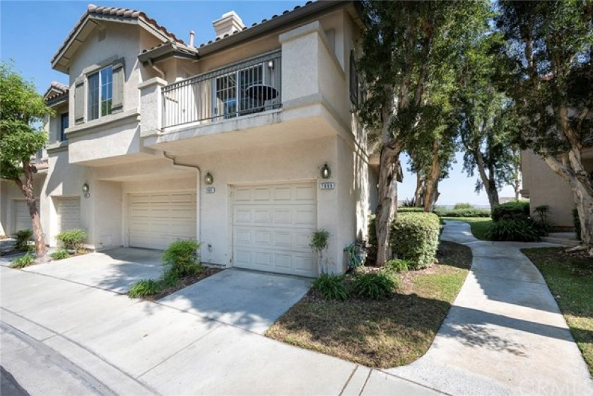 Coveted end unit single level condo with no one above or below! One car garage with direct access to the home!