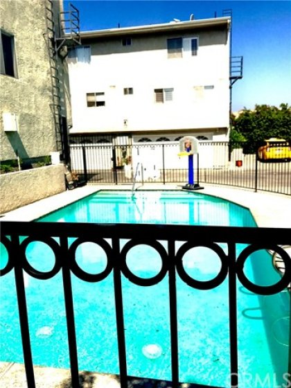 Community pool walking distance from the unit