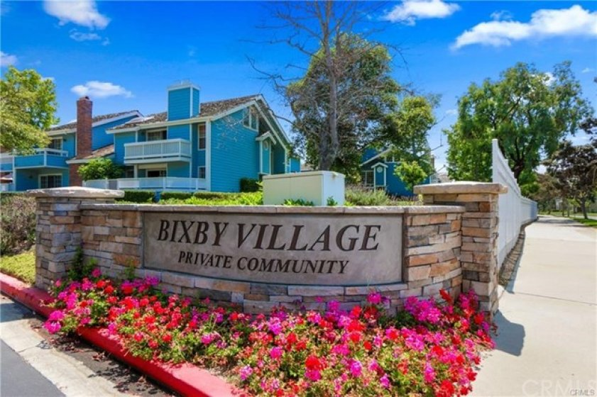 WELCOME TO BIXBY VILLAGE