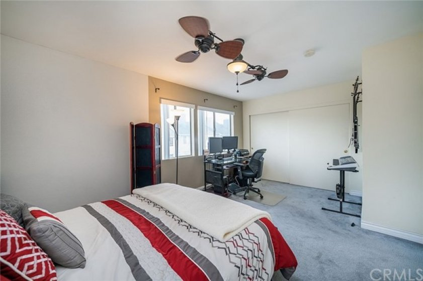 Master bedroom with great ample closets.