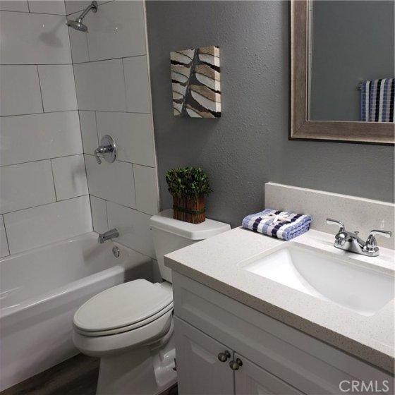 All new main hall bathroom