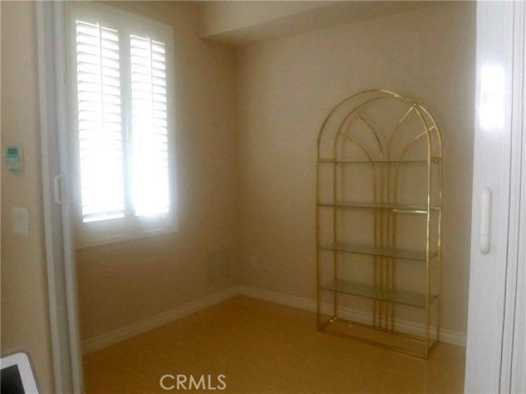 Den with Large Closet