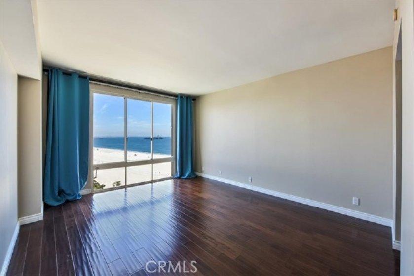 ocean view from the bedroom  1