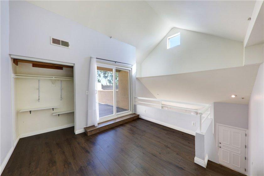Loft (optional 3rd room, office, den, gym)