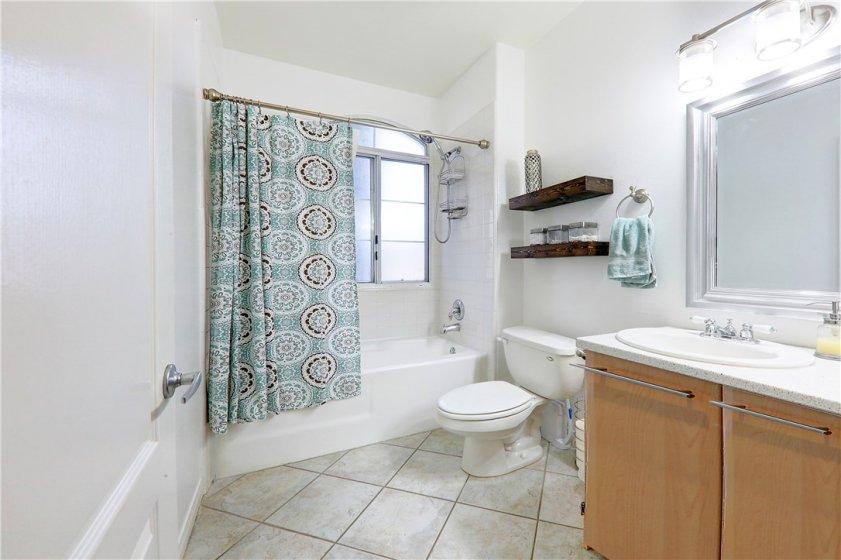 1st full-size bathroom in common area hallway