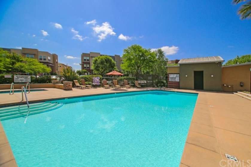 Beautiful refreshing resort style pool is yours to enjoy!