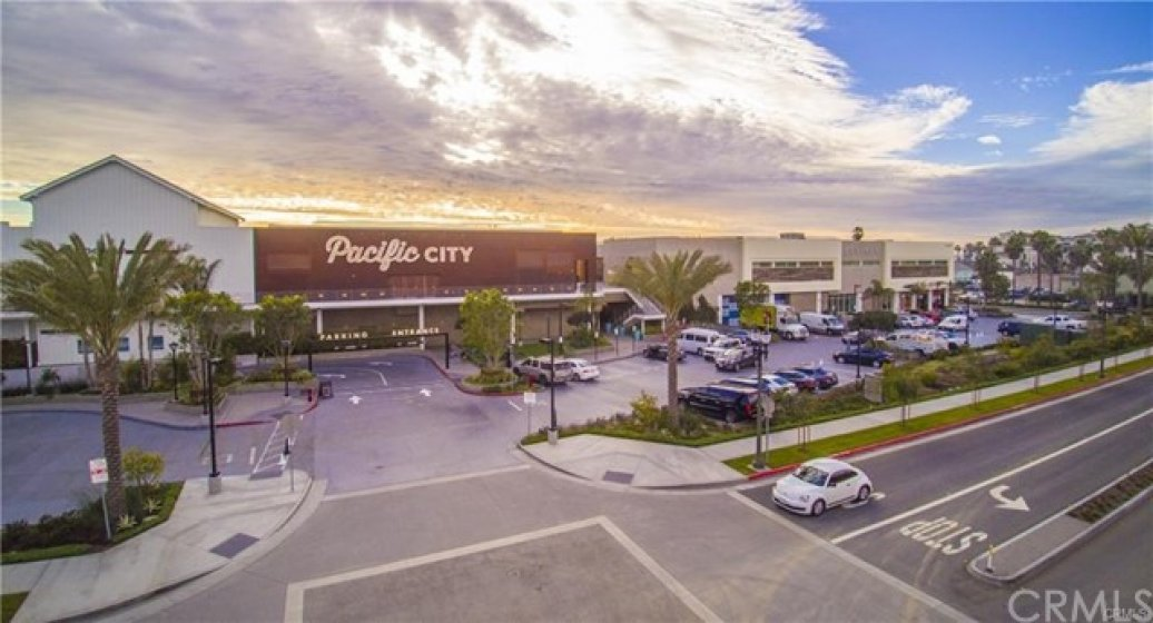 Pacific City - situated on PCH with unobstructed beach views. For oceanfront dining, entertainment, and shopping. Check it out!