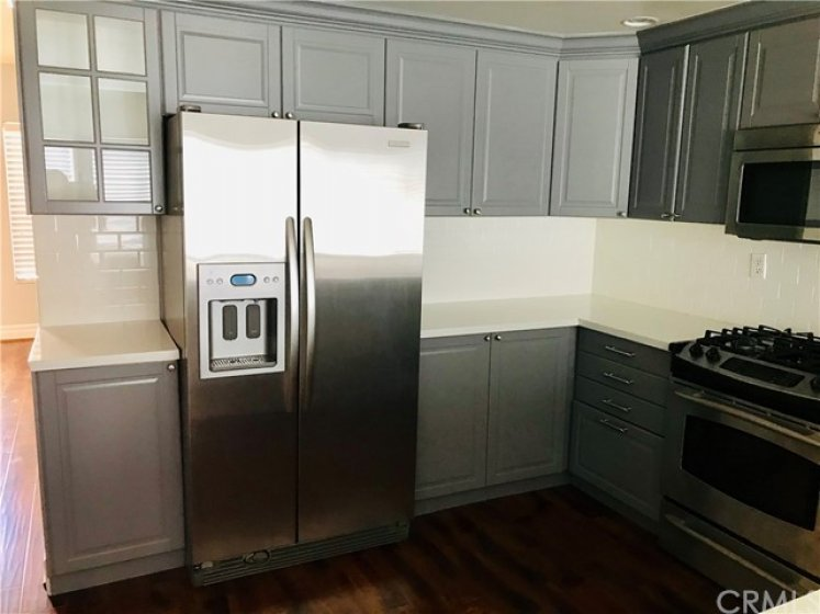 Refrigerator is included in the sale!