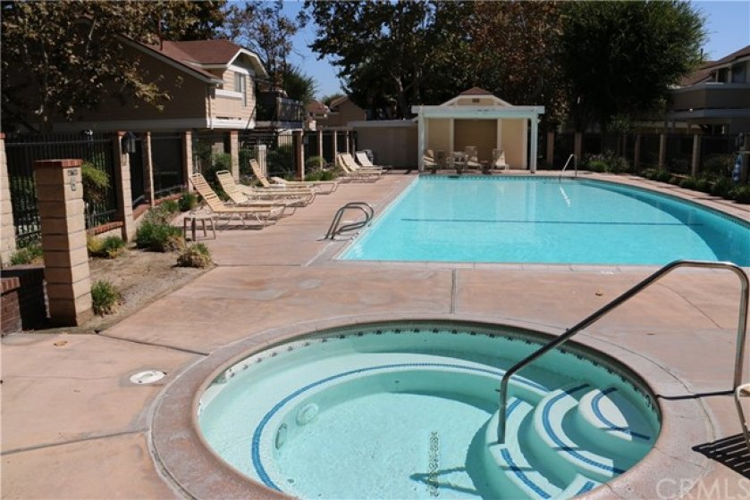 North pool. All three pools have spa areas too.