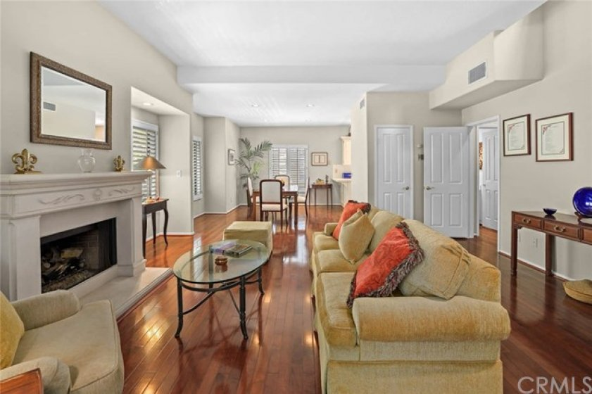 Open concept aptly describes the downstairs floor plan.