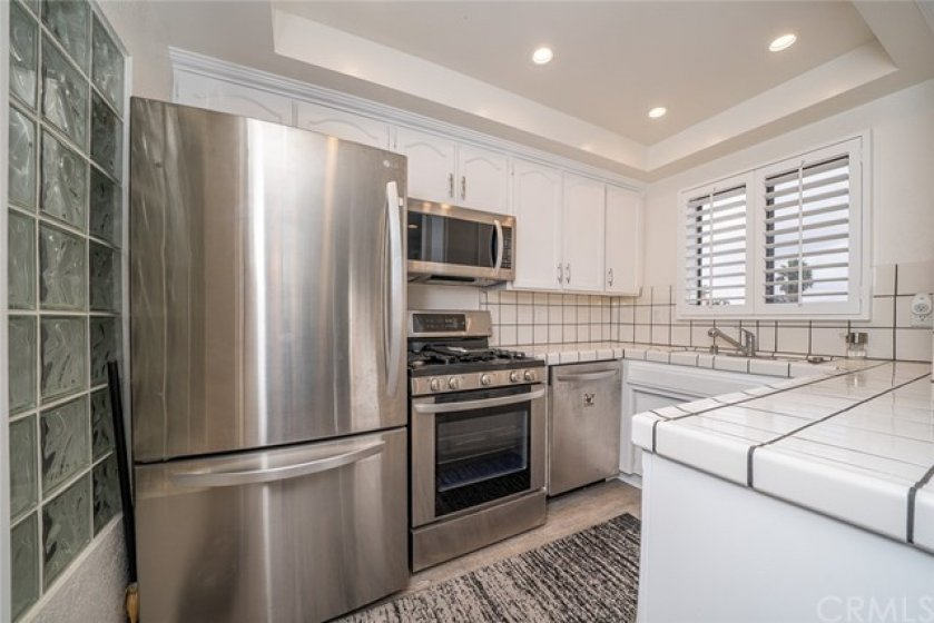 Kitchen with Stainless Steel Appliances, Only 2 yrs old.