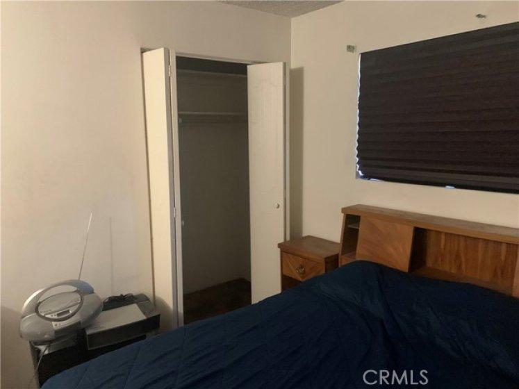 2nd closet in bedroom