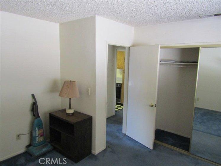Bedroom from opposite corner of room.
