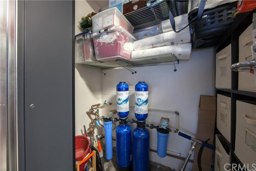 Water softener system.