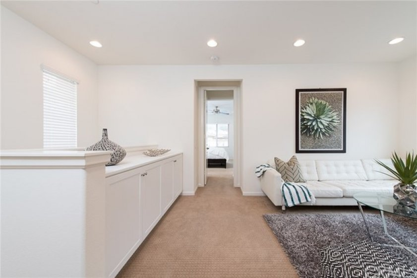 open, spacious loft space