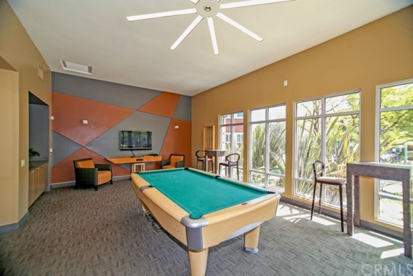 Enjoy a game of billiard with friends.