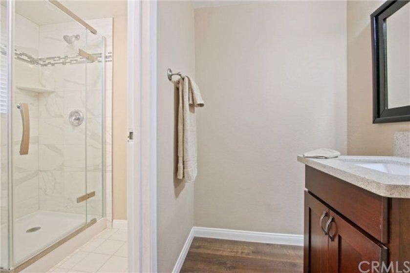 Remodeled Downstairs Bathroom