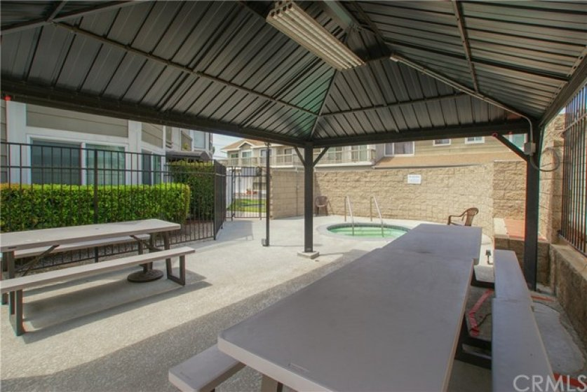 Shaded picnic area for fun gatherings