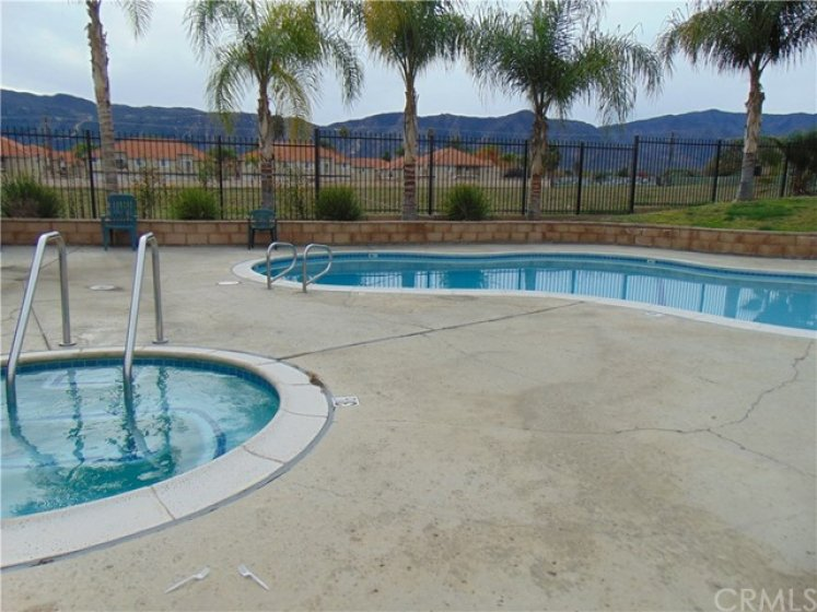 Community Pool and Spa