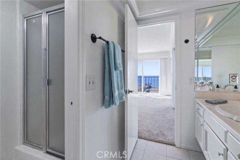Walk-in Shower in Master Bathroom