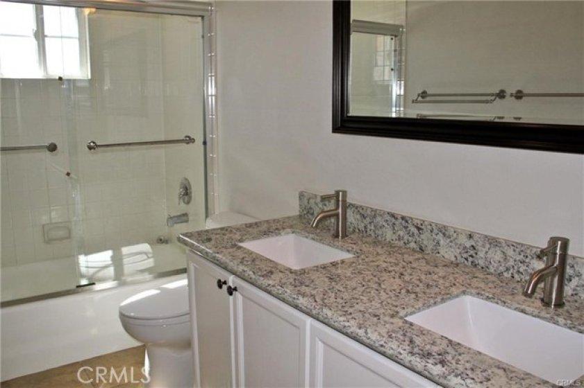 Remodeled master suite bath room