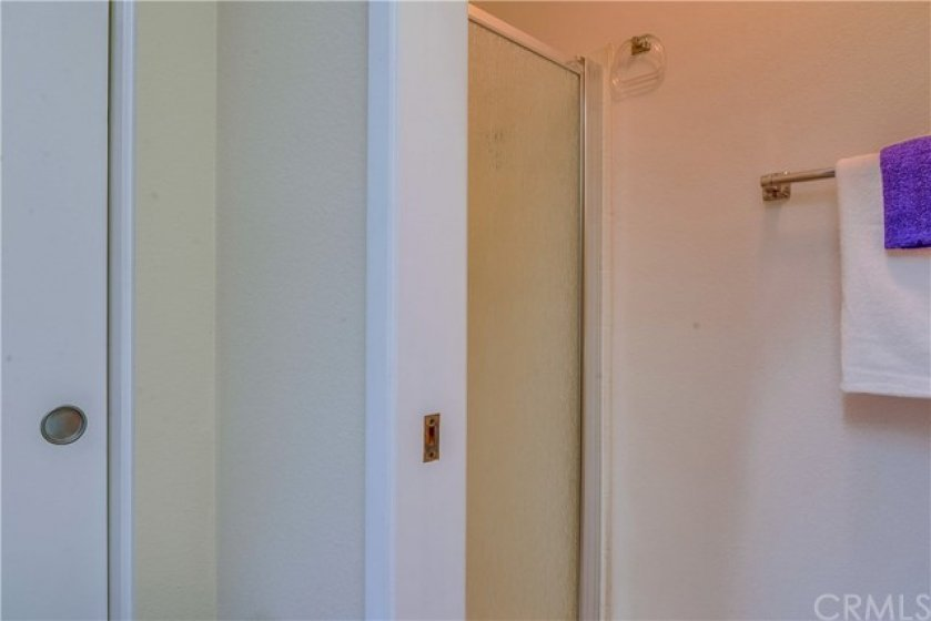 New shower door