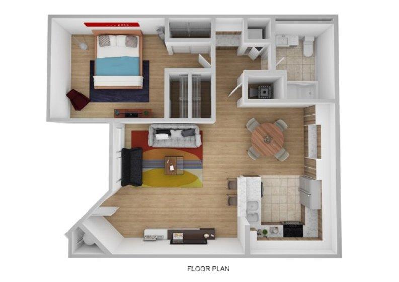 Digital floorplan