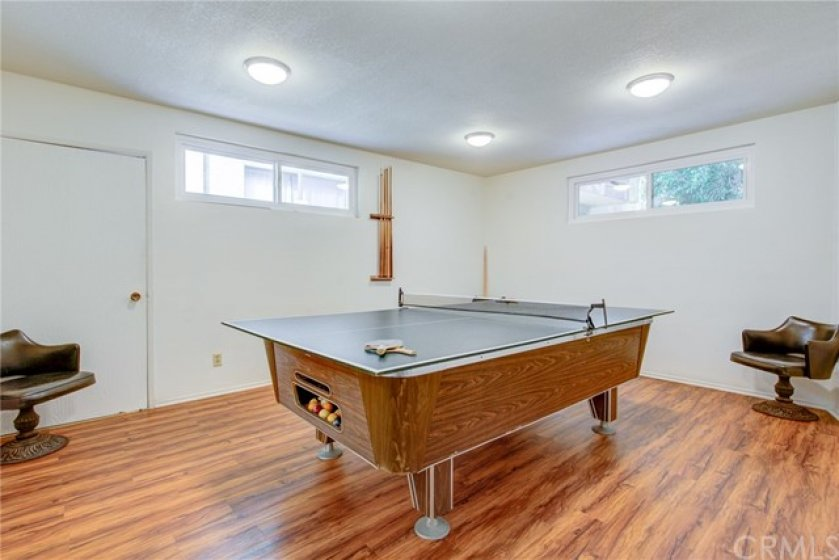 Billiards and ping pong at the ready.