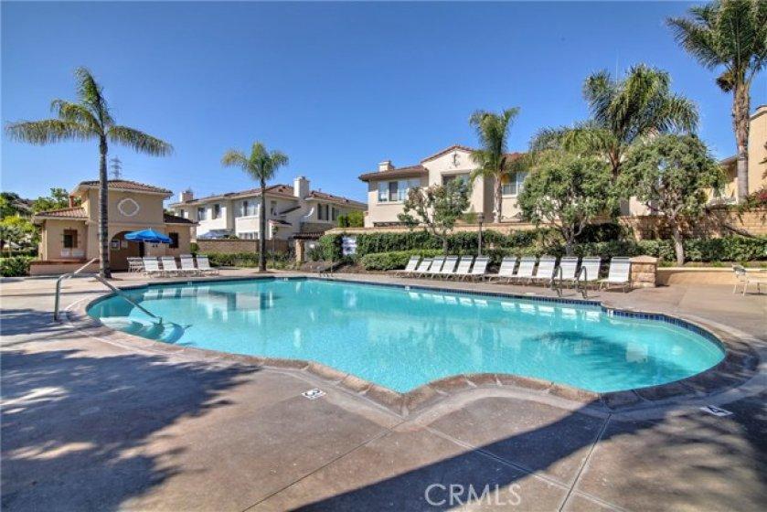 Trinidad community pool and spa