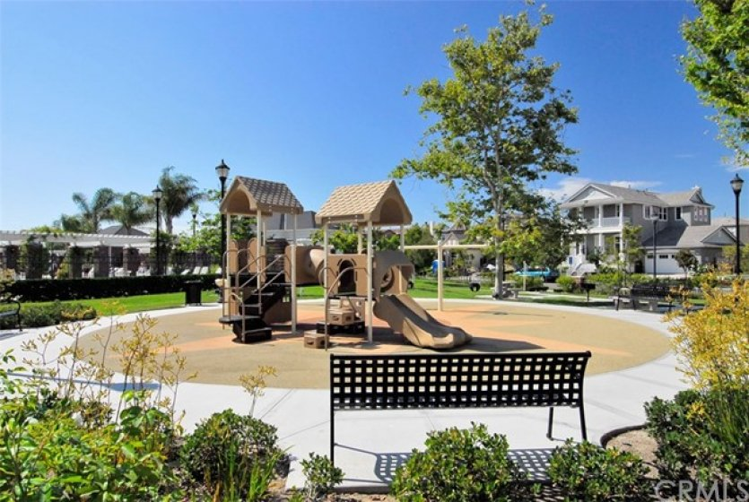 Playground at the clubhouse.